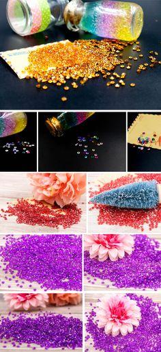 1000PCS/Lot 4.5MM Diamond Acrylic Crystals Wedding Decoration - Wedding Look