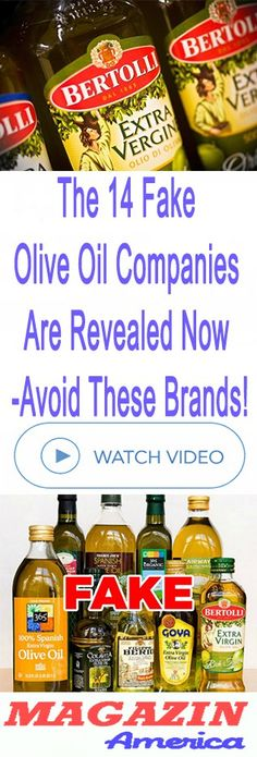 The 14 Fake Olive Oil Companies Are Revealed Now – Avoid These Brands!