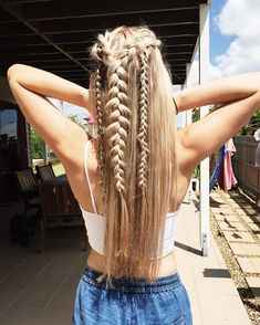 Dutch braids half up half down,,easy half up half down hairstyles,boho hairstyles,easy hairstyle do it yourself at home,boho hairstyles