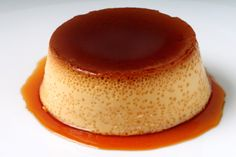 Flan: Chances are, you have never made flan because one of your aunts always brings it and it always seemed a little intimidating. But flan is actually super easy to make and a great dessert to bring to a party—which is why Titi always brings it. Köstliche Desserts, Delicious Desserts, Dessert Recipes, Yummy Food, Cuban Desserts, Creme Caramel, Mexican Food Recipes, Sweet Recipes, Coconut Flan