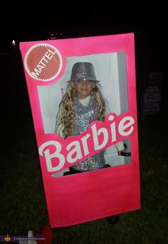 Barbie in her Box - Halloween Costume Contest via @costume_works