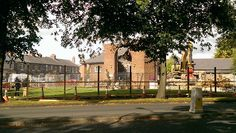 2015 knocking down Flixton Library, Brook Road/Bowfell Road