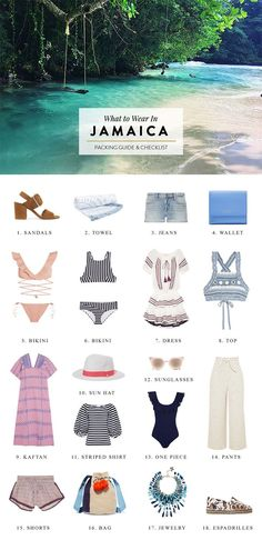 7f31513143 What to Pack for Jamaica  Outfit Ideas   Packing List