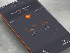 iphone app flat design