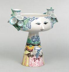 939. A Bjorn Wiinblad Face Vase (Denmark, 20th Century) - November 2008 Auction - ASPIRE AUCTIONS