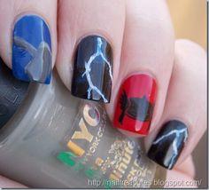 Nail Treasures: Thor Nail Art