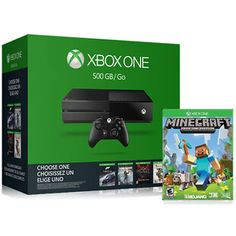 Microsoft Xbox One 500GB Name Your Game Bundle with Minecraft #LavaHot http://www.lavahotdeals.com/us/cheap/microsoft-xbox-500gb-game-bundle-minecraft/145530?utm_source=pinterest&utm_medium=rss&utm_campaign=at_lavahotdealsus