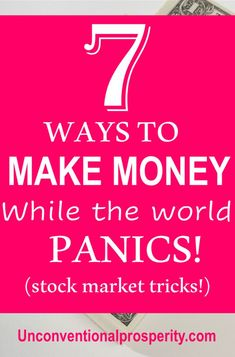 7 Ways to Profit in a Bear Market (Bear Market Trading Strategies) - Unconventional Prosperity Earn Extra Money Online, Ways To Earn Money, Make Money Fast, Make Money From Home, Money Tips, Money Hacks, Online Side Jobs, Legit Online Jobs, Investing Money