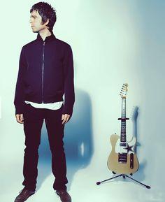 Noel with Fender Telecaster