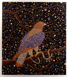 Fred Tomaselli, Avian Flower Serpent