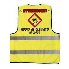 T shirt in polycotton taglia l una bottiglia di vetro da for Cabina di addio al celibato