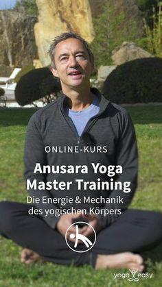 Du möchtest das Anusara Yoga besser kennenlernen? Die Energie und Mechanik des yogischen Körpers erkunden und auch in die tantrische Philosophie einsteigen? Dann bist du hier genau richtig. Anusara Yoga erfreut sich seit Jahren zunehmender Beliebtheit: Kein Wunder, bietet dieser Stil mit seinen besonderen Ausrichtungsprinzipien und der dahinterliegenden Philosophie doch einen ganz besonders tiefen Zugang zum Yoga – körperlich wie spirituell. Anusara Yoga, Yoga Video, Yoga Master, Stress, Online Yoga, Yoga Poses, Fit, Meditation, Train