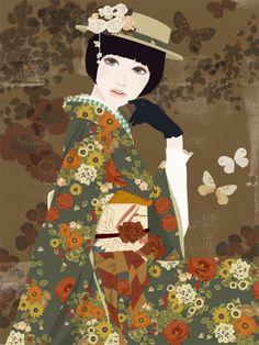Il mondo di Mary Antony: Le illustrazioni di Mari Katogi