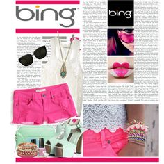 """""""Looks to DIY for with the Bing Summer of Doing"""" by albisha91 on Polyvore"""