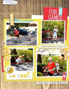 Fun games by Nathalie Leonelli with I Lived kit and add-on