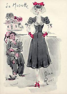 Nina Ricci 1944 La Mascotte Christian Berard