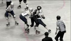 Big hits aren't the only way to get a jammer out of bounds. If you can use your feet to steer someone to the edge at a 45-degree angle and your hips and flank to guide them, the opposing jammer may...