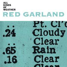 All Kinds of Weather, Prestige 1959 Artwork by Reid Miles