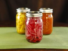 Pickled Red Onions - Easy Pickle Recipe with Canning Instructions - can be refrigerator pickles