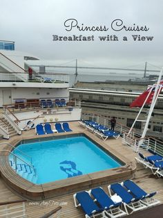 Princess Cruises Breakfast Buffet - Any Tots Packing For A Cruise, Cruise Tips, Cruise Travel, Us Travel Destinations, Amazing Destinations, Travel Tips, Travel With Kids, Family Travel, Celebrity Cruises