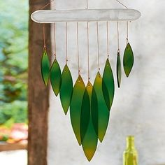 Culture Vulture Falling Leaves Wind Chime