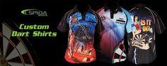 Custom Darts Shirts - Start designing you new uniforms today!