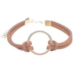 Layered Velvet Ring Charm Bracelet (27.110 IDR) ❤ liked on Polyvore featuring jewelry, bracelets, layered jewelry, velvet jewelry and charm bracelet