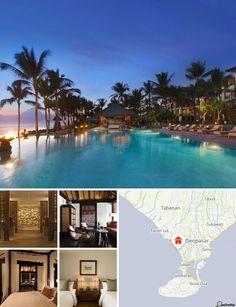 Il resort balneare è situato sulla costa meridionale di Bali, più precisamente nel tranquillo distretto di Seminyak, ricco di attrazioni turistiche raggiungibili agevolmente a piedi. La città principale di Bali, Denpasar, dista circa 7 km dall'hotel e il suo aeroporto (Ngurah Rai) è raggiungibile in 25 minuti d'auto.
