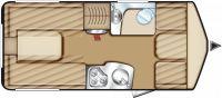 Interior Eriba - Touring - Troll 540