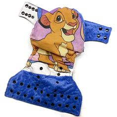The Lion King's Simba Specialty One Size Cloth Diaper by Honeybuns
