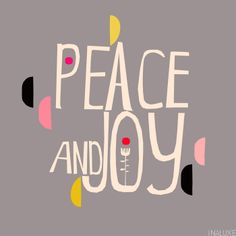 inaluxe :: Peace and Joy