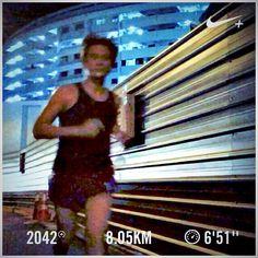 Siam ah! Barry is running  #barryisrunning  #run #runsg #nikeplus #nikerun #nikeplusrun  #runhappy #runnerscommunity #runnerinspiration #runforabettertomorrow  #correr #Corrida #instarunner #iphonerunner #iphoneonly #marathontraining #wearetherunners #worlderunners  #loverunning  #plantarfasciitis  #RunItFast #justrunlah