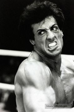 """circa American actor Sylvester Stallone, appearing as the boxer Rocky Balboa in the film """"Rocky"""", Stallone made 5 """"Rocky"""" film between 1976 and 1990 Get premium, high resolution news photos at Getty Images Rocky Balboa Poster, Rocky Balboa Quotes, Rocky Quotes, Rocky Series, Rocky Film, Sylvester Stallone Quotes, Rocky Stallone, Rocky 1976, Action Movies"""