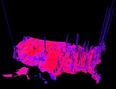 A different way to look at the election 2012 map - MIT Technology Review