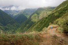 Expect to lose yourself in the island's uniquely brilliant landscape and miles of running-accessible trails