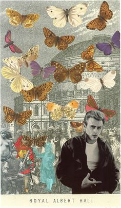 James Dean at the Albert Hall by Petr Blake