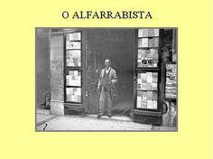 -: Antigas Profissões de Lisboa-o alfarrabista