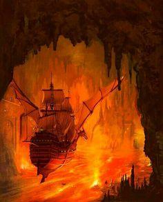 les portes de la mort de Margaret Weis et Tracy Hickman (illustration Marc simonetti) Illustrations, Bane, Painting Inspiration, Death, Fantasy, Dragon Wing, Artwork, Robots, Weapons