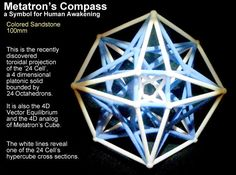 Check out Metatron's Compass 100mm -4D Vector Equilibrium by Narada_Dan_Vantari on Shapeways and discover more 3D printed products in Memes / Mathematical Art.