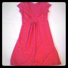 Soft Pink A-Line Dress