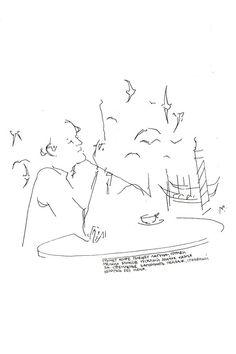 to Joseph Brodsky's poetry by Yulia Luchkina, via Behance