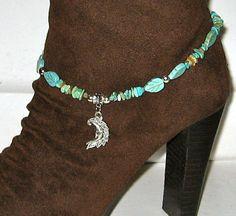 Cowboy Boot Bracelet Southwestern Style by LadyLisaDesigns on Etsy, $12.00
