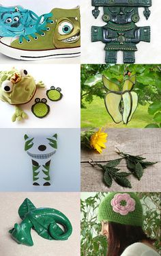 Great Green Gift ideas by Lorraine on Etsy--Pinned with TreasuryPin.com