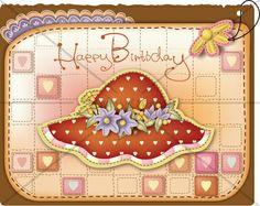 Birthday Party Greetings Tag  Etiquette Digital   by IdrawUprint, $5.00