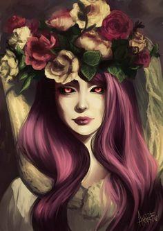 #Арт #Девушка #Рисунок #Красиво #Тамблер