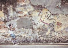 Les plus belles œuvres de Street-art de l'année 2016 selon Lumières de la ville | Lumières de la Ville