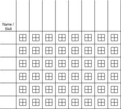 Skills+Training+Matrix+Excel+Template+Screenshot+Previous
