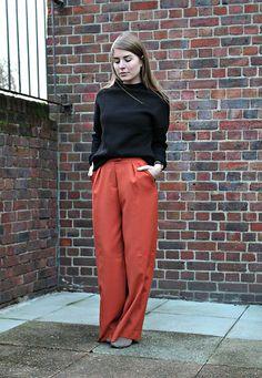 Zara Jumper, H&M Trousers, Links Of London Watch