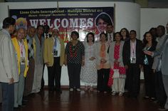 10th MD 411 Convention Committee receives International Director Sangeeta Jatia in Nairobi
