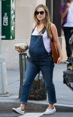 Olivia Wilde from The Big Picture: Today's Hot Pics  Overall glowing!  The expecting actress is seen in Tribeca neighborhood in New York City.
